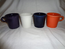 FIESTAWARE FIESTA RING HANDLE TOM AND JERRY MUGS SET OF 4 HOMER LAUGHLIN
