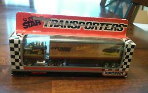 Matchbox superstar  transporters #2 Rusty Wallace penske racing 1:87