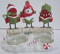 Yankee Candle 2014 Christmas SNOWBIRD Collection Sing Multi Tea Light T/L Holder