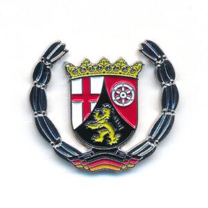Land Rheinland-Pfalz Wappen Mainz Koblenz Deutschland Badge Pin Anstecker 0923
