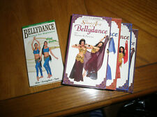 Sensual Art of Bellydance Set (VHS, 3-Tape Set) W/Slim Down All Veena and Neena