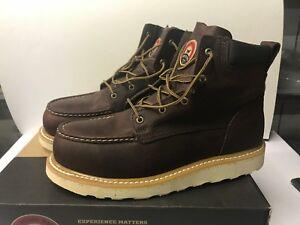 Irish Setter 83606 Men's 11 Wide Ashby Leather Aluminum Toe Boot