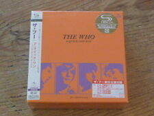 The Who: A Quick One 2 SHM CD Box Japan Mini-LP UICY-93539/40 w/Stickers SS (Q