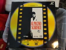 'SCARFACE' 1991 Dutch 2 Disc Edition Laser Disc -PAL-