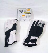 PEARL IZUMI gants hiver ELITE SOFTSHELL vélo taille L (large) HOMME blanc/noir
