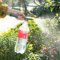 Adjustable High Pressure Trolley Water Gun Sprinkler Agri Spray gun for bottle