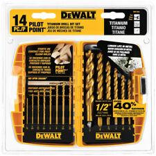 DEWALT 14-piece Titanium Drill Bit Set DW1354  - Tool set 885911113601