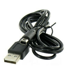 1x 1.1m USB Sync Charge USB Cable Charger for Nintendo 3DS XL 3DSLL Black US