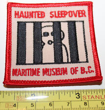 Girl Guides Haunted Sleepover Maritime Museum of BC Vancouver Canada Patch Badge