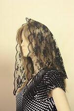 Black Bridal Veils and Tiaras