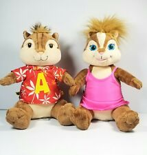 """Build A Bear Alvin And Brittany Chipette 18"""" Alvin and the Chipmunks"""