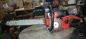 """Jonsereds 70E Chainsaw 20"""" bar and chain pro muscle saw collector saw runner"""