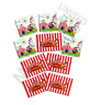 Cricus Carnival Stickers - Big Top Party Bag Fillers Pack Sizes 10 - 100