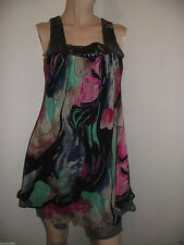 Polyester Square Neck Dresses Size Petite for Women