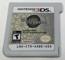 Nintendo 3DS Tales of the Abyss Game Only *Authentic* *Tested*