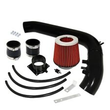 """For Nissan 240SX 89-94 DOHC Cold Air Intake System Black 2.75"""" Air Filter Red"""