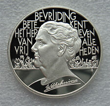 SILVER COIN, PROOF .925, NEDERLAND, 25 ECU, 1995, Wilhelmina