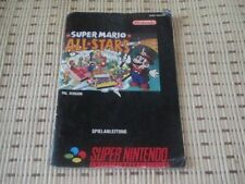 Super Mario All-Stars Spielanleitung / Anleitung / Super Nintendo SNES
