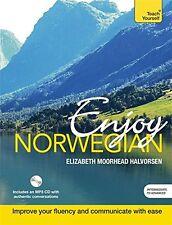 Enjoy Norwegian: Teach Yourself New Paperback Book Elizabeth Moorhead Halvorsen