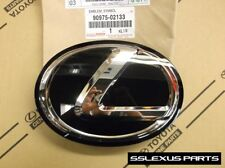 "Lexus LS460 (2013-2017) OEM Genuine Front Grille ""L"" LOGO BLACK EMBLEM"