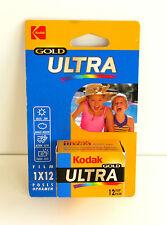 Pellicule Kodak Gold Ultra - 400 ISO - 12 poses - Lomographie - 24x36