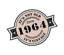 Non è vecchio intorno al 1964 ROSETTA Emblema PER CASCO DA MOTO AUTO ADESIVO VINILE