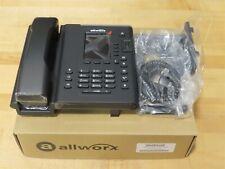 New Allworx Verge 9304 Voip Ip Display Phone 8113040 Black