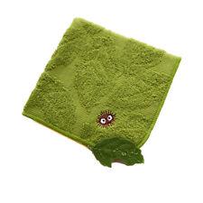 My Neighbor Totoro dustbunny leaf Mini Cotton Hand Towel Acorn Studio Ghibli