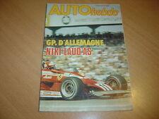 Auto hebdo N°74 Gp d'Allemagne.Hockenheim Gr5.Andruet
