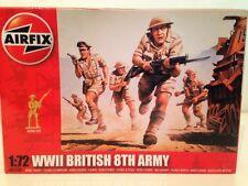 Airfix A01709 Segunda Guerra Mundial Ejército Británico 8th escala 1:72 nuevo 49 piezas Sin Pintar Oferta