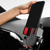 1X Car Gravity Air Vent Mount Cradle Holder Stand Mobile Cell Phone Universal