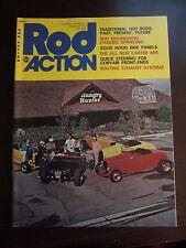 Rod Action Magazine December 1975 Solid Hood Side Panels Chassis Springing (L)