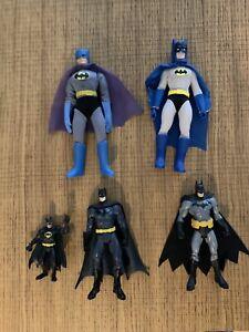 Lot figurines batman Dc Comics Mego Matty Collector Mattel