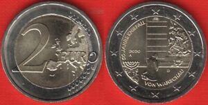 "Germany 2 euro 2020 ""Kniefall von Warschau"" Random mint BiMetallic UNC"