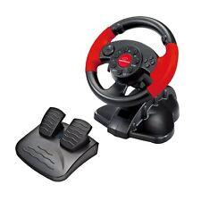 Controller Esperanza EG103 RacingWheel, Lenkrad für PC, PS2/3 USB rot/schwarz