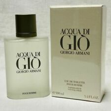 Aqua Acqua Di Gio Eau de Toilette EDT 3.3 / 3.4 by Giorgio Armani Men *SEALED*