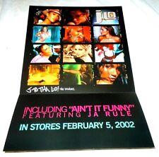 J-Lo~J to tha L-O~Jennifer Lopez~Promo Poster Flat~Nm Cond~12x18~2002
