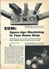 Hobby Edm machine and power supply