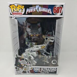 Power Rangers Dino Ultrazord 25cm Pop! Vinyl Figure #687 Funko Free Postage