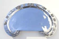 Rare Gorgeous Antique Silver Plated Baby Serving Tray By Reed & Barton Silver Co
