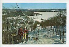 Skiing at Hidden Valley MUSKOKA Ontario HUNTSVILLLE Ski Lift Vintage ca. 1960s