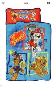 Kids Nap Mat Pillow Paw Patrol Toddler Boys Girls Preschool Daycare Sleeping Bag
