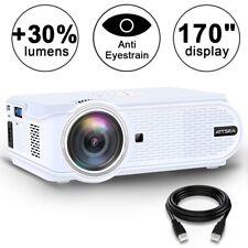 Movie Projector ARTSEA 1600 Luminous Efficiency Home Theater LED Video Projec...
