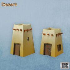 Plastcraft Games - Desert Command Posts DESERT04 Wargaming Scenery 28mm PVC