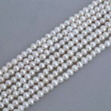 Seed White 3 - 3.9 mm Size Jewellery Making Craft Beads