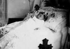Antique Post Mortem Infant Photo 229 Bizarre Odd Strange