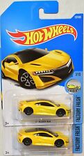 Hot Wheels 2017 Factory Fresh '17 Acura Nsx Color Variation