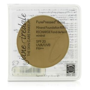 NEW Jane Iredale PurePressed Base Mineral Foundation Refi (Latte) 9.9g/0.35oz