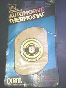 Carol THERMOSTAT Extra high temperature 195º -USA Motors-BRITAIN-EURO -Jap +
