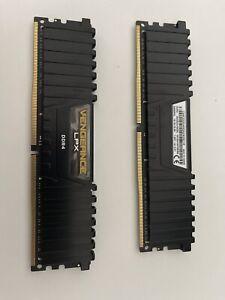 Corsair VENGEANCE LPX 32GB 2x16GB DDR4 DRAM 2400MHz C16 Memory Kit - Black
